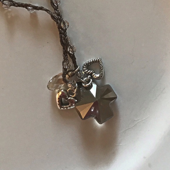 Brighton Jewelry - Brighton Karma Crystal Cross Necklace